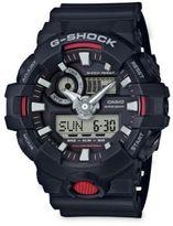 G-Shock Resin Ana-Digi Buckle Watch