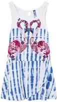 Desigual Girl's VEST_TRIPOLI Dress,(Manufacturer Size: 7/8)