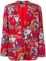 Kenzo Pre Owned floral printed jacket