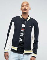 Fila Vintage Track Jacket With Stripes