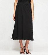 Alex Evenings Petite A-Line Chiffon Skirt