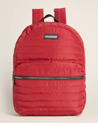 Adrienne Vittadini Tubular Quilted Backpack