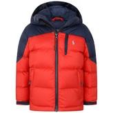 Ralph Lauren Ralph LaurenBoys Red Puffer Coat