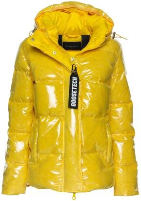 Goose Tech Goosetech Goosetech Wet-look Padded Jacket