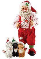 JCPenney Santa Micestro Figurine