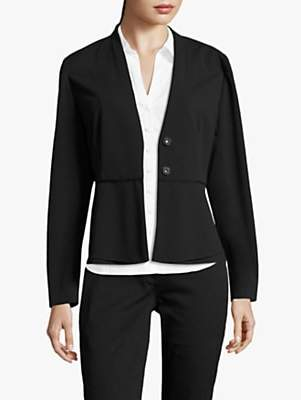 Betty Barclay Crepe Tailored Jacket, Black