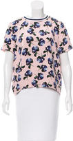 Mother of Pearl Floral Print Blouse