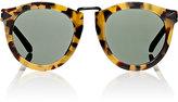 Karen Walker Women's Alternate Fit Harvest Sunglasses-BROWN, NO COLOR
