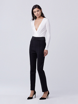 Diane von Furstenberg Blysse Two High Waisted Pant