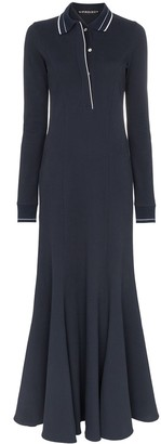Y/Project Polo Shirt Maxi Dress