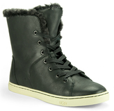UGG Croft Luxe Quilt - Fur Sneaker