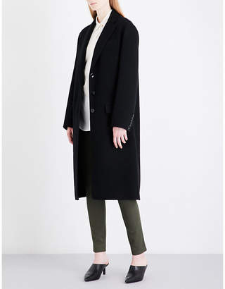 Joseph Ladies Black Luxury Simo Wool And Cashmere-Blend Coat