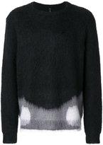 Oamc colour block jumper