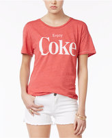 Junk Food Clothing Cotton Enjoy Coke Graphic T-Shirt