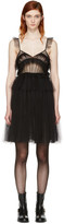 MSGM Black Tulle Dress