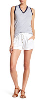 Three Dots Erna Rolled Cuff Short
