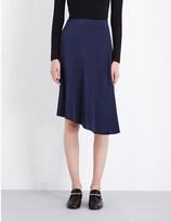 Joseph Paloma crepe asymmetric skirt
