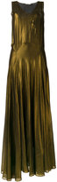 Mes Demoiselles long sleeveless dress - women - Silk/Viscose - 36