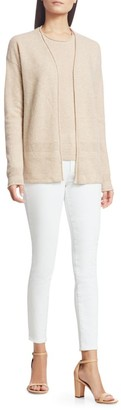 Saks Fifth Avenue COLLECTION Cashmere Open Cardigan