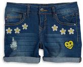 Vigoss Girls 7-16 Girls The Jagger Embroidered Denim Shorts