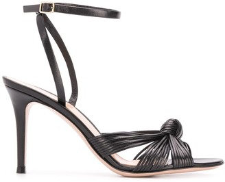 Gianvito Rossi Knotted Sandals