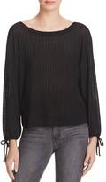 Ella Moss Tie-Cuff Sweater