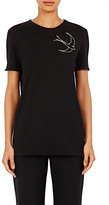Nina Ricci Women's Sequin-Embellished T-Shirt-BLACK