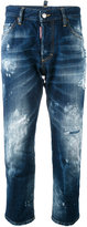DSQUARED2 Cool Girl cropped jeans - women - Cotton - 40