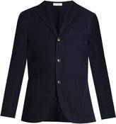 Boglioli Single-breasted stretch-cotton blazer