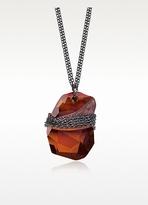 Swarovski CRYSTALLIZEDTM Divine Rock Red Pendant Necklace