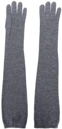 Brunello Cucinelli Long Slip-On Gloves