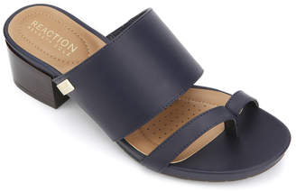 Kenneth Cole Reaction Women's Sandals NAVY - Navy Late Thong Mule - Women
