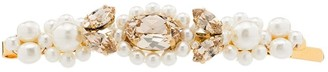 Simone Rocha Gold-Tone Pearl And Crystal Hair Clip