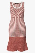Derek Lam Ruffle Hem Knit Dress