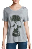 Haute Hippie Skull Graphic T-Shirt
