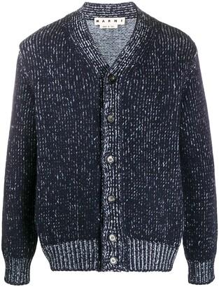 Marni Marled Knit Cardigan