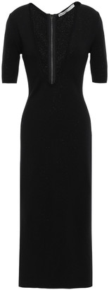Gentry Portofino Gentryportofino Stretch-wool Midi Dress