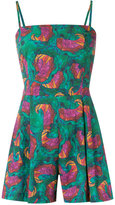 Isolda - abstract print playsuit - women - Cotton - 36