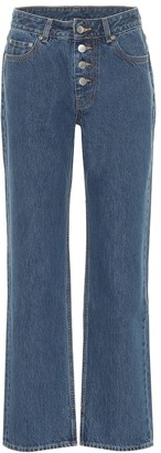 Ganni Mid-rise straight jeans