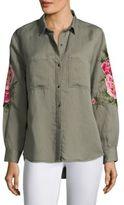 Rails Marcel Embroidery Shirt Jacket