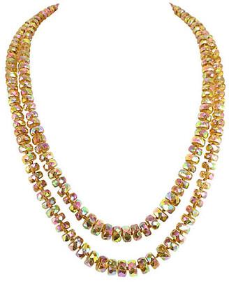 One Kings Lane Vintage 1950s Vogue Carnival Glass Necklace - Neil Zevnik