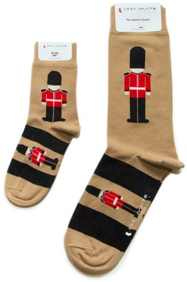 Look Mate London Just Like Dad - Queen'S Guard Socks
