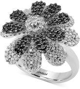 Effy Diamond Flower Ring (1-3/4 ct. t.w.) in 14k White Gold
