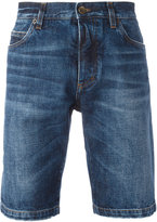 Dolce & Gabbana jazz patches denim shorts - men - Cotton/Viscose/Polyester/Polyurethane - 46
