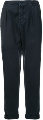 Kiton High-Waisted Straight Trousers