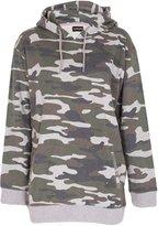 Noroze Womens Camouflage Sweatshirt Hoodie Pullover (, 6-8 (M-L))