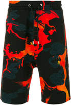 Givenchy graphic track shorts