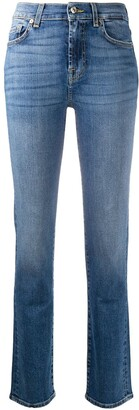 7 For All Mankind The Straight Soho Light jeans