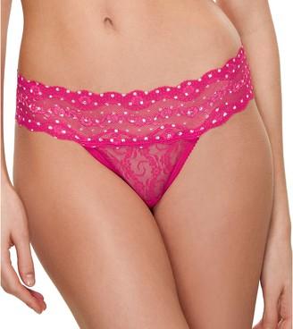 Wacoal b.tempt'd Women's Lace Kiss Thong