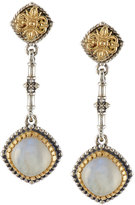 Konstantino Erato Labradorite Doublet Dangle Earrings